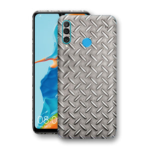 Huawei P30 LITE Print Custom Signature Diamond Steel Floor Plate Skin Wrap Decal by EasySkinz