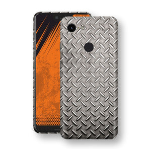 Google Pixel 3 XL Print Custom Signature Diamond Steel Floor Plate Skin Wrap Decal by EasySkinz
