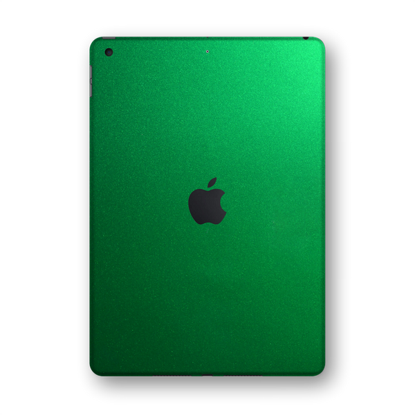 "iPad 10.2"" (7th Gen, 2019) Glossy 3M VIPER GREEN Metallic Skin Wrap Sticker Decal Cover Protector by EasySkinz"