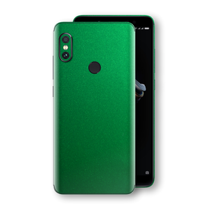 XIAOMI Redmi NOTE 5 Viper Green Tuning Metallic Skin, Decal, Wrap, Protector, Cover by EasySkinz | EasySkinz.com