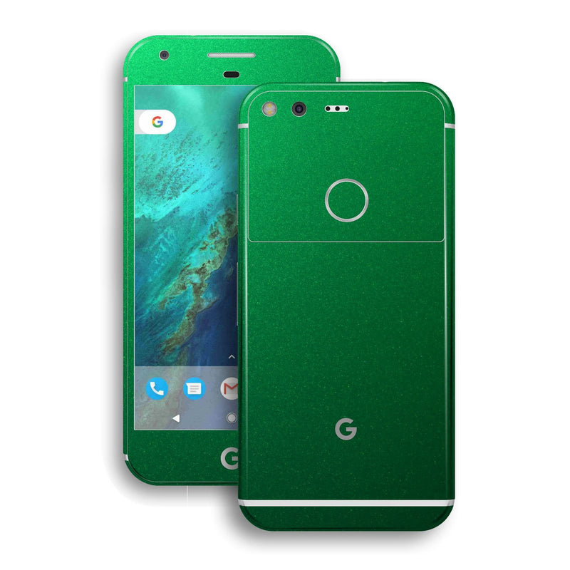 Google Pixel XL Glossy Viper Green Tuning Metallic Skin by EasySkinz