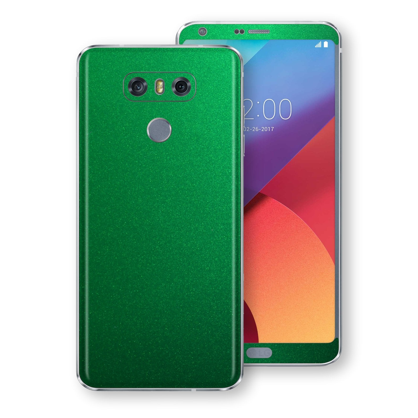 LG G6 Viper Green Tuning Metallic Skin, Decal, Wrap, Protector, Cover by EasySkinz | EasySkinz.com