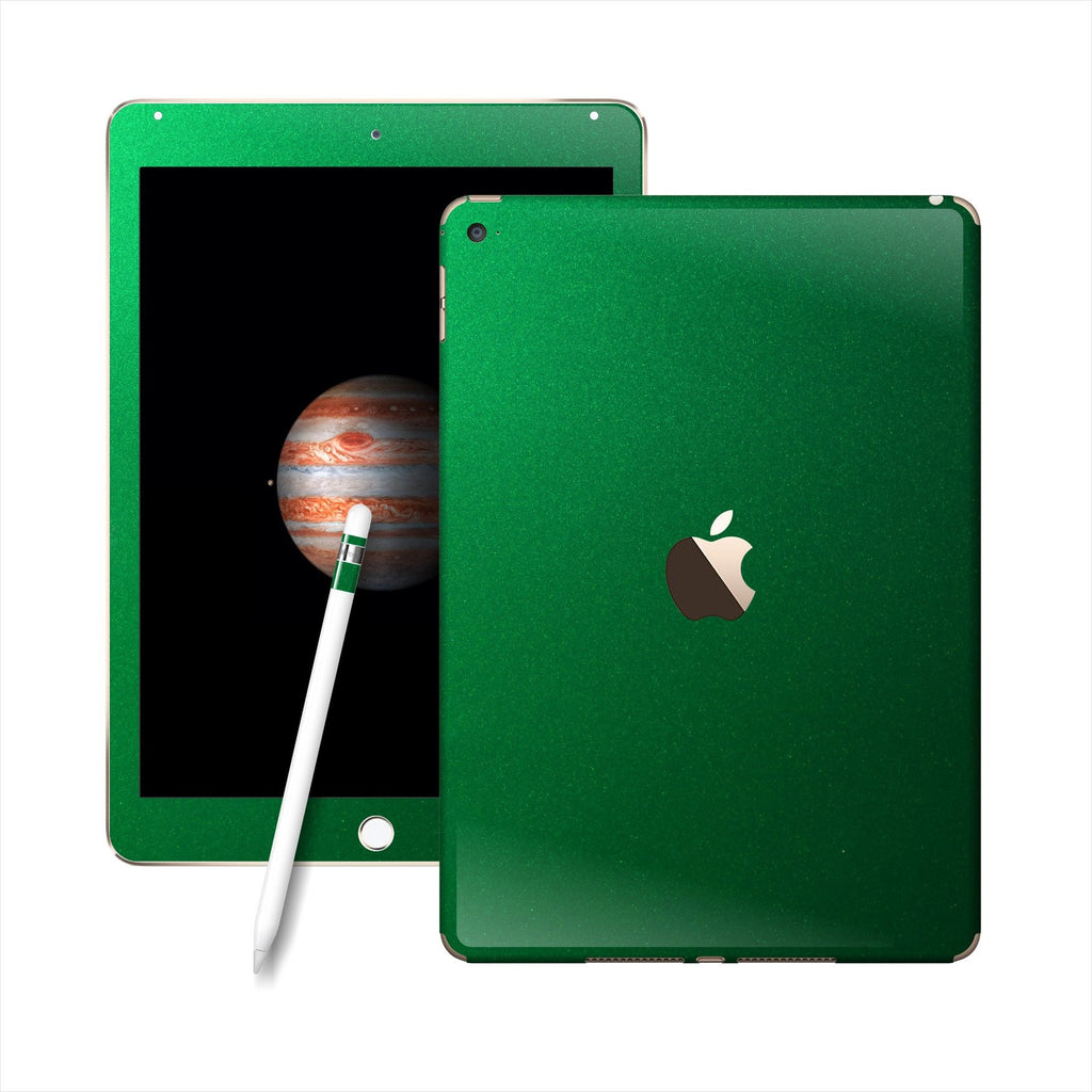 iPad PRO Glossy 3M VIPER GREEN Metallic Skin Wrap Sticker Decal Cover Protector by EasySkinz