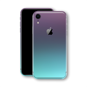 iPhone XR Chameleon Turquoise Lavender Colour-changing Skin, Wrap, Decal, Protector, Cover by EasySkinz | EasySkinz.com