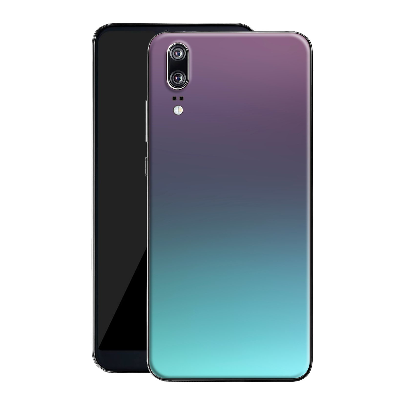 Huawei P20 Chameleon Turquoise Lavender Colour-Changing Skin, Decal, Wrap, Protector, Cover by EasySkinz | EasySkinz.com