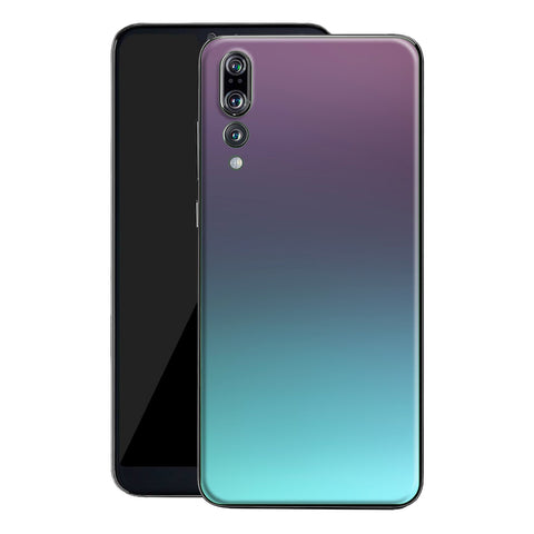 Huawei P20 PRO Chameleon Turquoise Lavender Colour-Changing Skin, Decal, Wrap, Protector, Cover by EasySkinz | EasySkinz.com