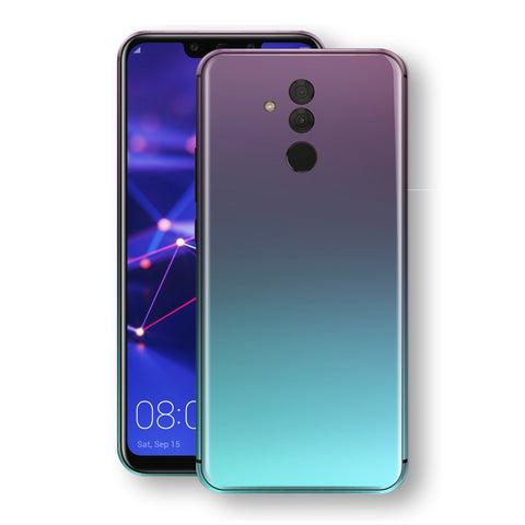 Huawei MATE 20 LITE Chameleon Turquoise Lavender Skin Wrap Decal by EasySkinz