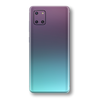 Samsung Galaxy NOTE 10 LITE Chameleon Turquoise Lavender Skin Wrap Sticker Decal Cover Protector by EasySkinz
