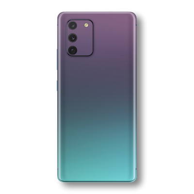 Samsung Galaxy S10 LITE Chameleon Turquoise Lavender Skin Wrap Sticker Decal Cover Protector by EasySkinz