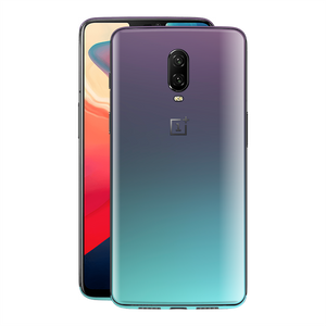 OnePlus 6T Chameleon Turquoise Lavender Skin Wrap Decal by EasySkinz
