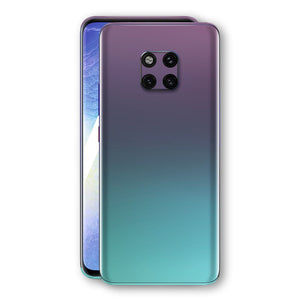 Huawei MATE 20 PRO Chameleon Turquoise Lavender Skin Wrap Decal by EasySkinz