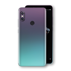 XIAOMI Redmi NOTE 5 Chameleon Turquoise Lavender Skin Wrap Decal by EasySkinz