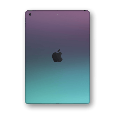 "iPad 10.2"" (8th Gen, 2020) Chameleon Turquoise Lavender Skin Wrap Sticker Decal Cover Protector by EasySkinz"