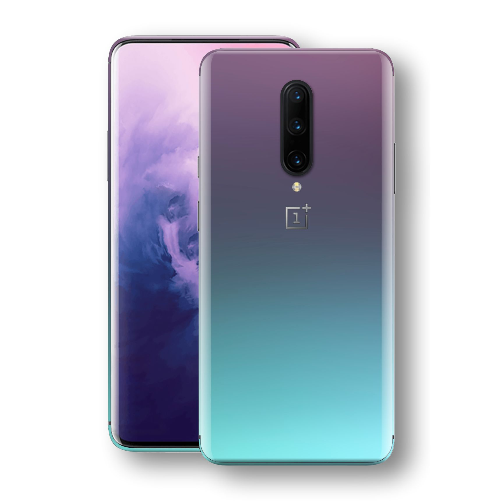 OnePlus 7 PRO Chameleon Turquoise Lavender Skin Wrap Decal by EasySkinz