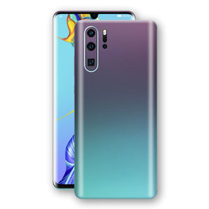 Huawei P30 PRO Chameleon Turquoise Lavender Skin Wrap Decal by EasySkinz