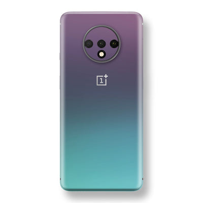 OnePlus 7T Chameleon Turquoise Lavender Skin Wrap Decal by EasySkinz