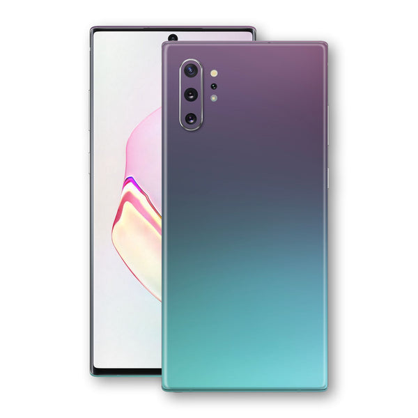 Samsung Galaxy NOTE 10+ PLUS Chameleon Turquoise Lavender Skin Wrap Decal by EasySkinz
