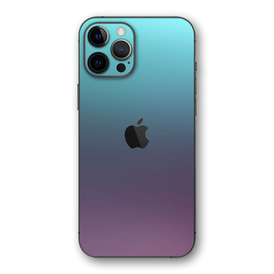 iPhone 12 PRO Chameleon Turquoise Lavender Colour-changing Skin, Wrap, Decal, Protector, Cover by EasySkinz | EasySkinz.com