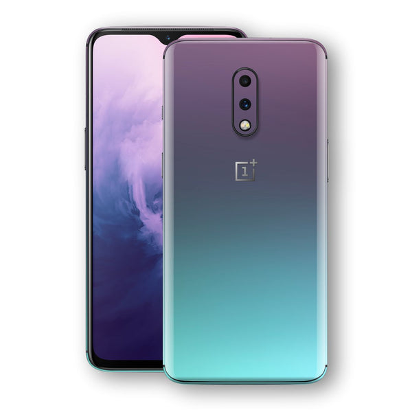 OnePlus 7 Chameleon Turquoise Lavender Skin Wrap Decal by EasySkinz