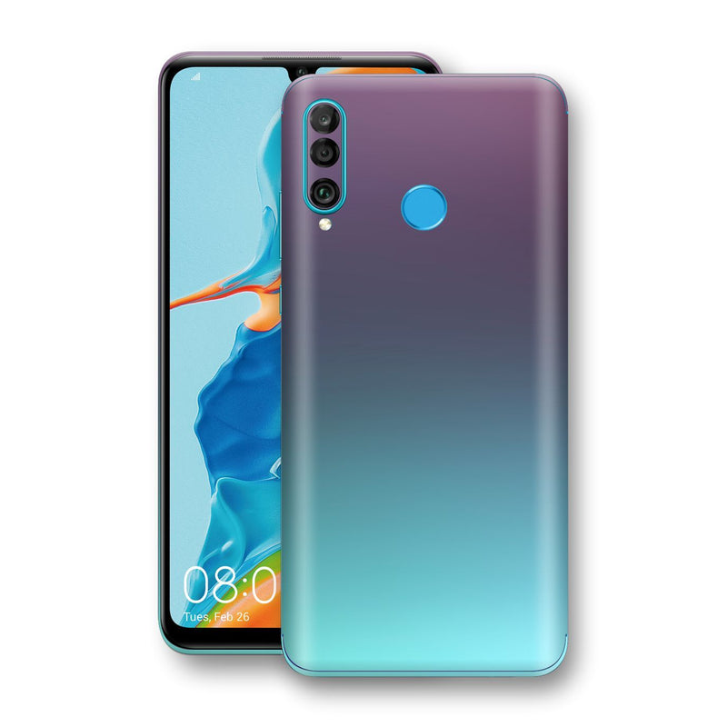 Huawei P30 LITE Chameleon Turquoise Lavender Skin Wrap Decal by EasySkinz