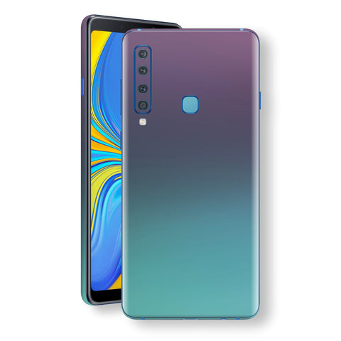 Samsung Galaxy A9 (2018) Chameleon Turquoise Lavender Skin Wrap Decal by EasySkinz