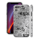 iPhone XS Print Custom Signature Jolly Roger Skin Wrap Decal by EasySkinz