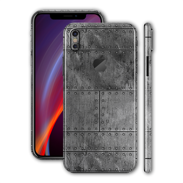 iPhone XS Print Custom Signature Aluminium Fuselage Skin Wrap Decal by EasySkinz