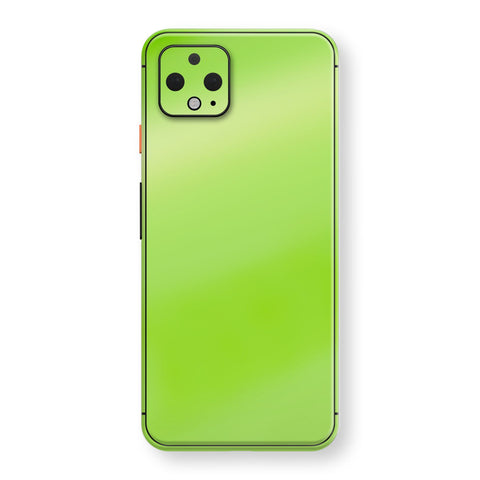 Google Pixel 4 Apple Green Pearl Gloss Finish Skin Wrap Decal Cover by EasySkinz