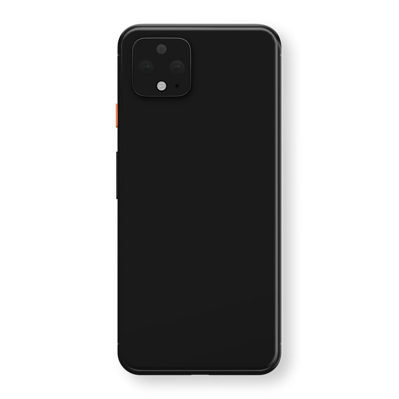 Google Pixel 4 Black Gloss Finish Skin, Decal, Wrap, Protector, Cover by EasySkinz | EasySkinz.com