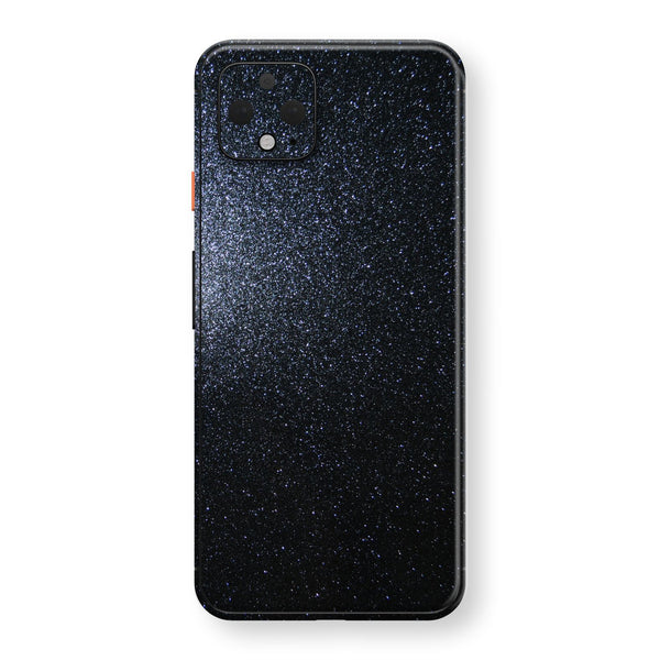 Google Pixel 4 Diamond Black Shimmering, Sparkling, Glitter Skin, Decal, Wrap, Protector, Cover by EasySkinz | EasySkinz.com