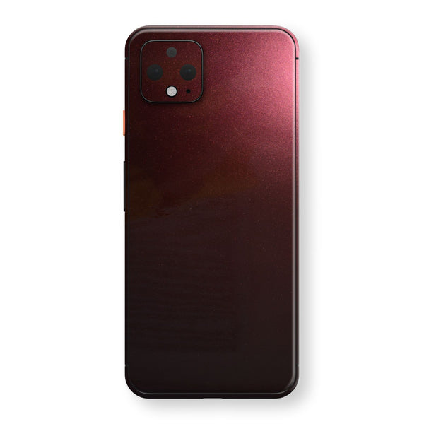 Google Pixel 4 Black Rose Glossy Metallic Skin, Decal, Wrap, Protector, Cover by EasySkinz | EasySkinz.com