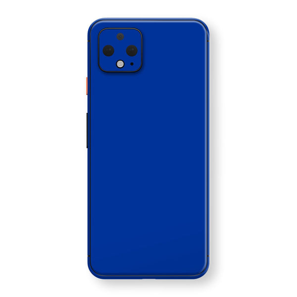 Google Pixel 4 Royal Blue Glossy Gloss Finish Skin, Decal, Wrap, Protector, Cover by EasySkinz | EasySkinz.com