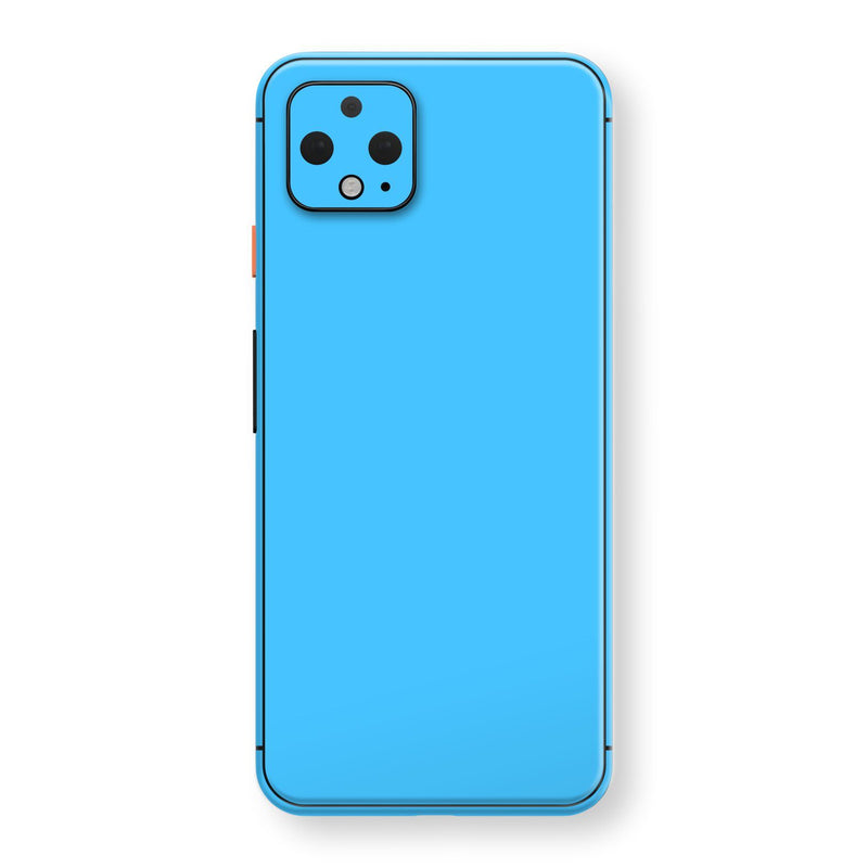 Google Pixel 4 Blue Matt Skin, Decal, Wrap, Protector, Cover by EasySkinz | EasySkinz.com