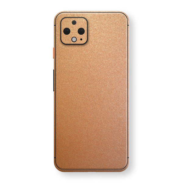Google Pixel 4 Copper Matt Metallic Skin, Decal, Wrap, Protector, Cover by EasySkinz | EasySkinz.com
