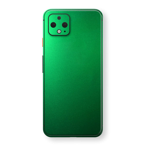 Google Pixel 4 Viper Green Tuning Metallic Skin, Decal, Wrap, Protector, Cover by EasySkinz | EasySkinz.com