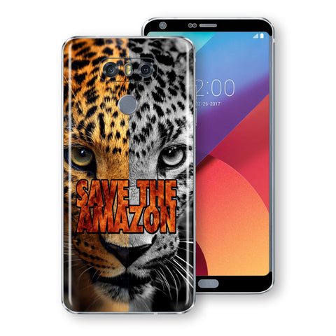 LG G6 SAVE THE AMAZON Skin Wrap Decal by EasySkinz