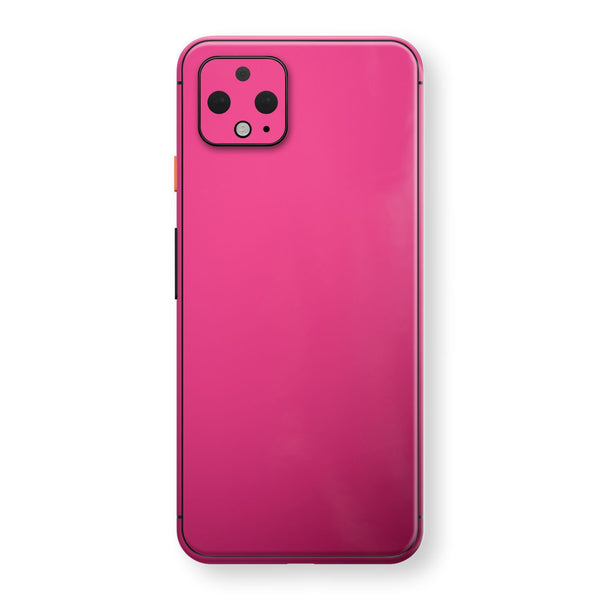 Google Pixel 4 Magenta Glossy Gloss Finish Skin, Decal, Wrap, Protector, Cover by EasySkinz | EasySkinz.com