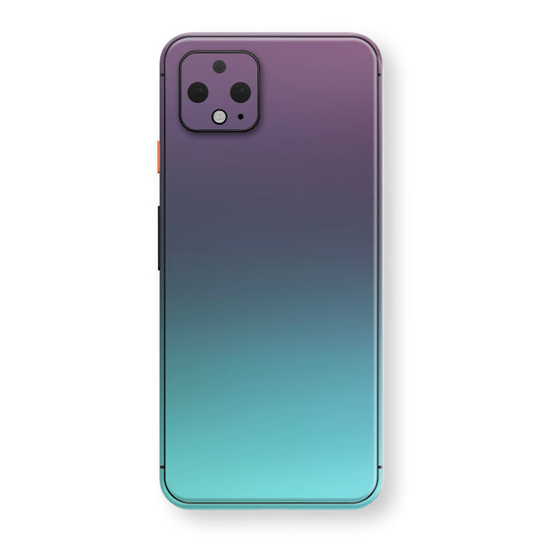 Google Pixel 4 Chameleon Turquoise Lavender Skin Wrap Decal by EasySkinz