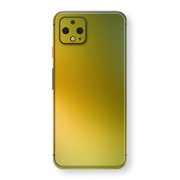 Google Pixel 4 Chameleon NEPHRITE-GOLD Skin Wrap Decal Cover by EasySkinz