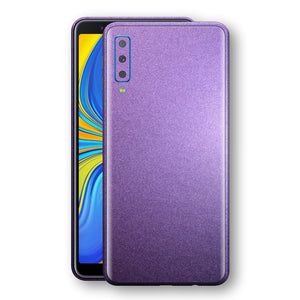 Samsung Galaxy A7 (2018) Violet Matt Metallic Skin, Decal, Wrap, Protector, Cover by EasySkinz | EasySkinz.com