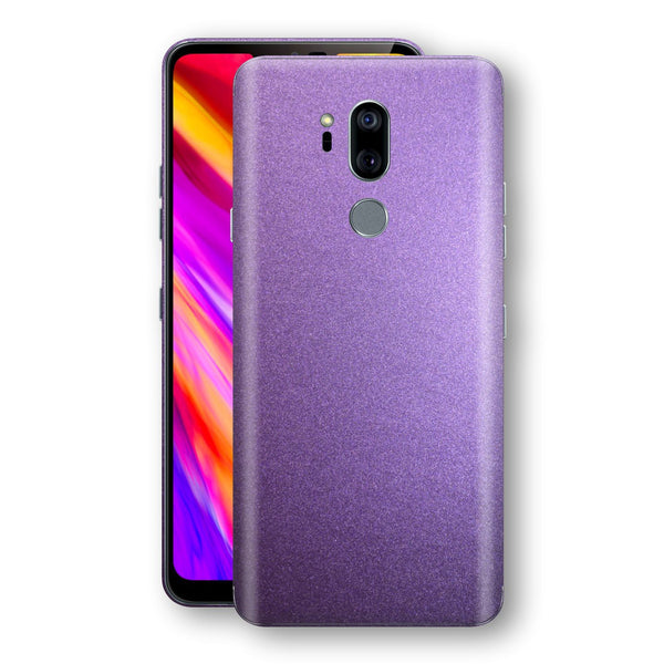 LG G7 ThinQ Violet Matt Metallic Skin, Decal, Wrap, Protector, Cover by EasySkinz | EasySkinz.com