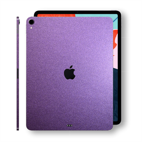 iPad PRO 11-inch 2018 Matt Matte VIOLET Metallic Skin Wrap Sticker Decal Cover Protector by EasySkinz