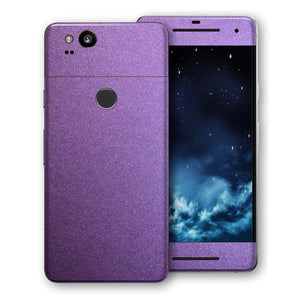 Google Pixel 2 Violet Matt Metallic Skin, Decal, Wrap, Protector, Cover by EasySkinz | EasySkinz.com