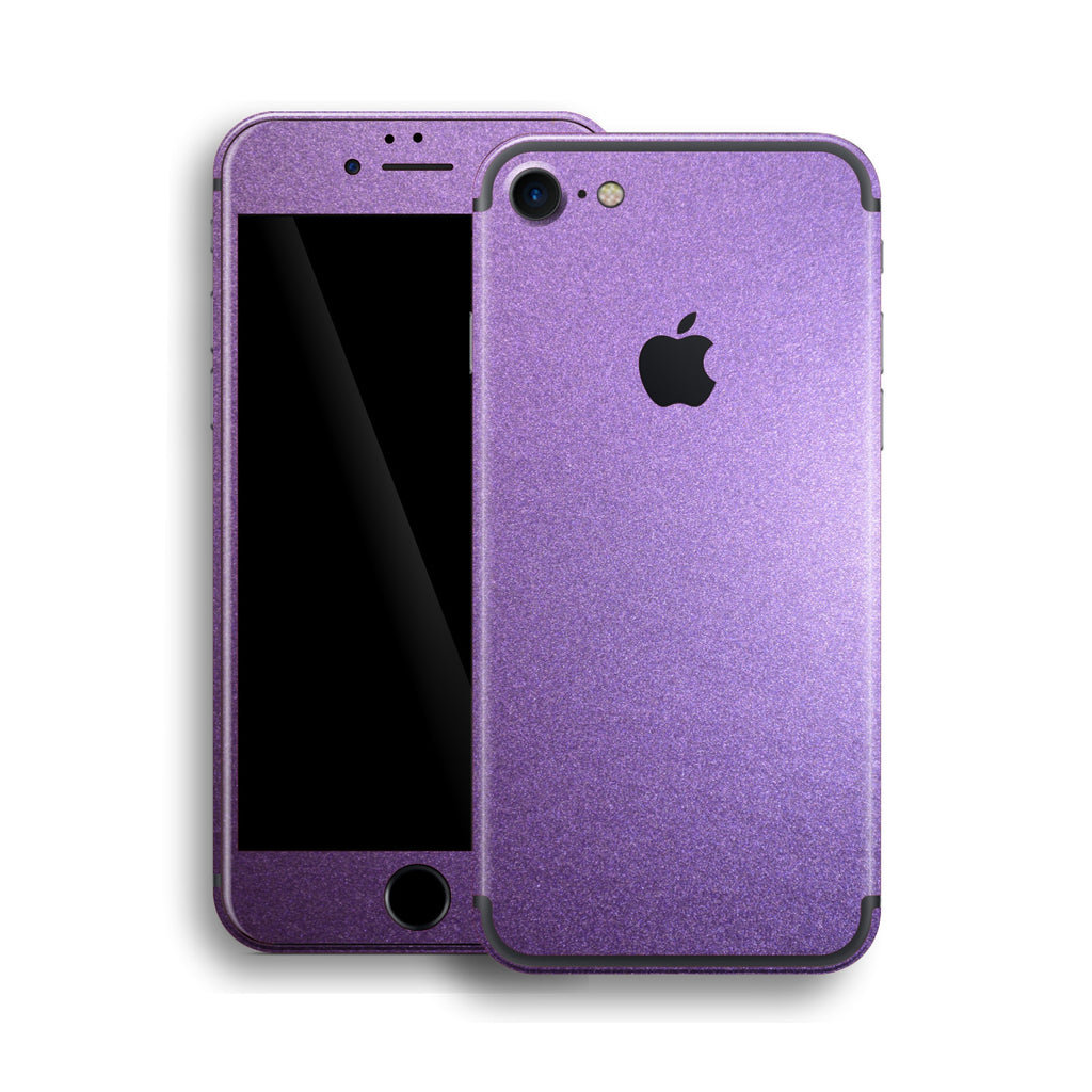 iPhone 7 Violet Matt Matte Metallic Skin, Wrap, Decal, Protector, Cover by EasySkinz | EasySkinz.com