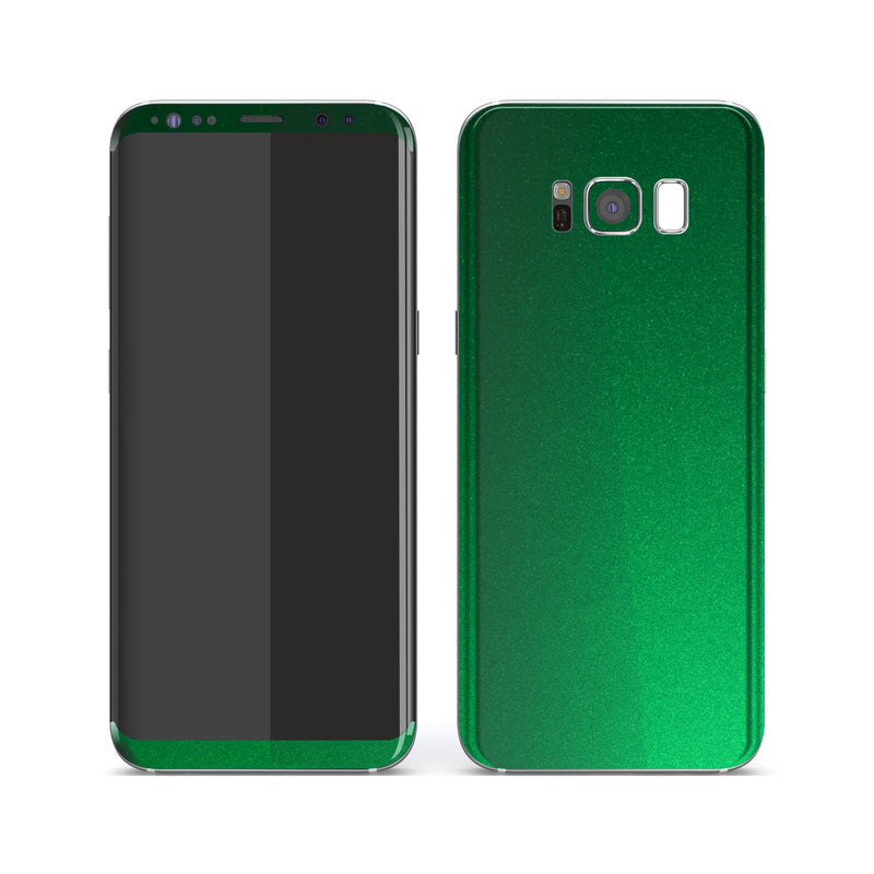 Samsung Galaxy S8 Viper Green Tuning Metallic Skin, Decal, Wrap, Protector, Cover by EasySkinz | EasySkinz.com