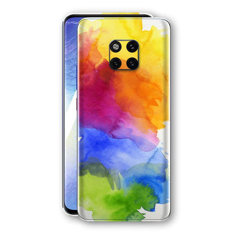 Huawei Mate 20 PRO Print Custom Signature AQUARELLE Skin Wrap Decal by EasySkinz