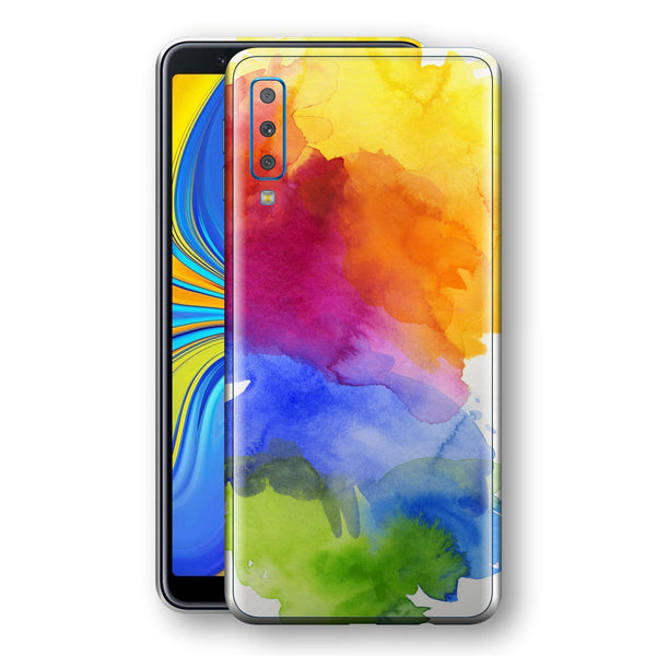 Samsung Galaxy A7 (2018) Print Custom Signature AQUARELLE Skin Wrap Decal by EasySkinz