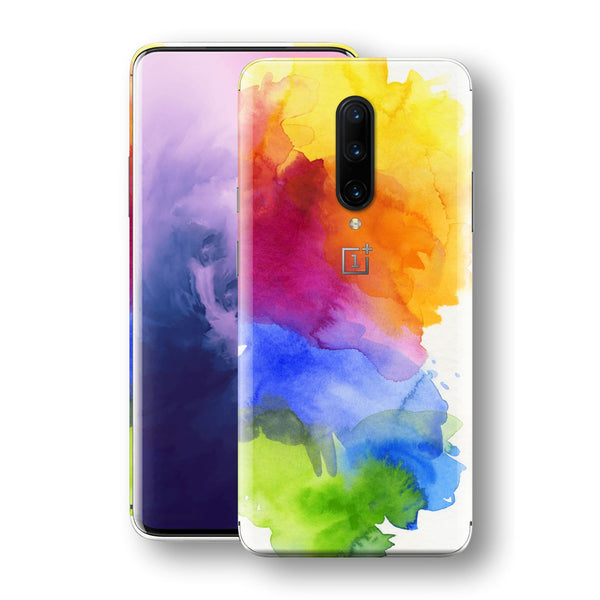 OnePlus 7 PRO Print Custom Signature AQUARELLE Skin Wrap Decal by EasySkinz