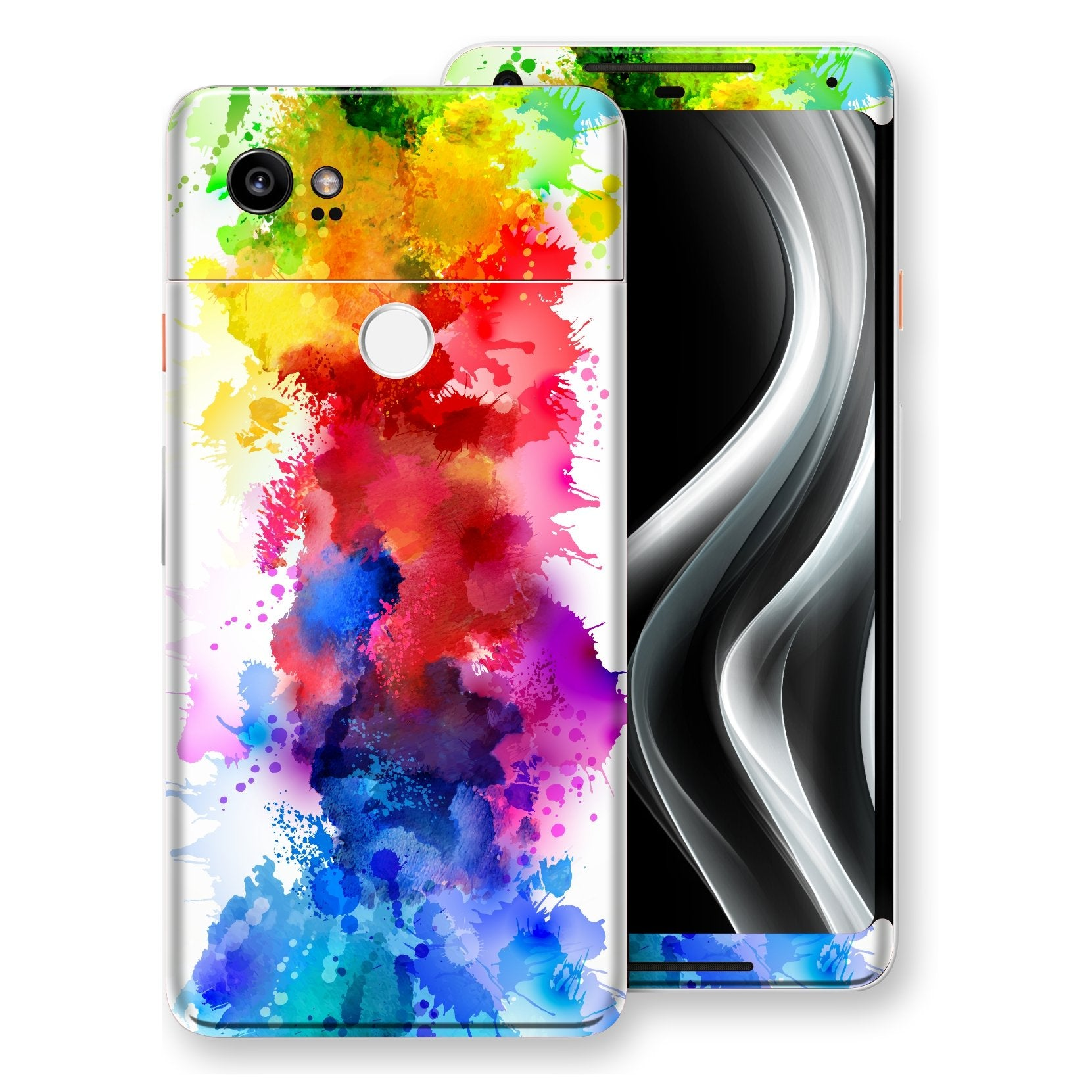 Google Pixel 2 XL Signature Watercolour Skin Wrap Decal Protector | EasySkinz