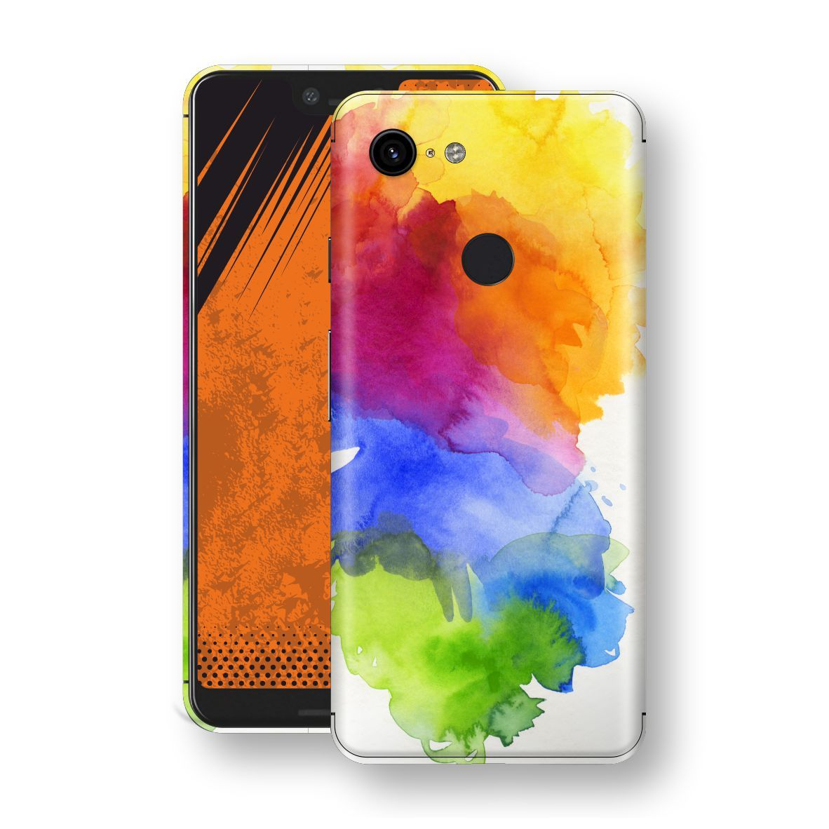 Google Pixel 3 XL Print Custom Signature AQUARELLE Skin Wrap Decal by EasySkinz